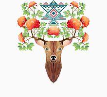 deer flowers Unisex T-Shirt