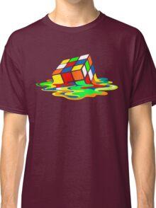 The Big Bang Theory Sheldon Cooper Melting Rubik's Cube cool geek Classic T-Shirt