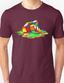 The Big Bang Theory Sheldon Cooper Melting Rubik's Cube cool geek Unisex T-Shirt