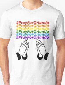#PrayForOrlando Unisex T-Shirt