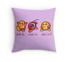 Waddle Don't! Throw Pillow
