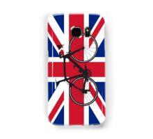 Bike Flag United Kingdom (Big - Highlight) Samsung Galaxy Case/Skin