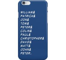 doctor&who iPhone Case/Skin