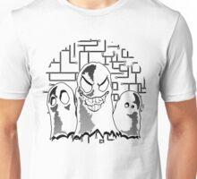 Ghosts Black Unisex T-Shirt