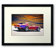 C3 Corvette Stingray I Framed Print