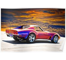 C3 Corvette Stingray I Poster