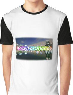 Pray For Orlando Graphic T-Shirt