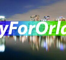 Pray For Orlando Sticker