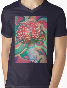 Magic Mushroom Mens V-Neck T-Shirt