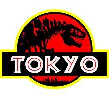 Godzilla Park - Tokyo Photographic Print