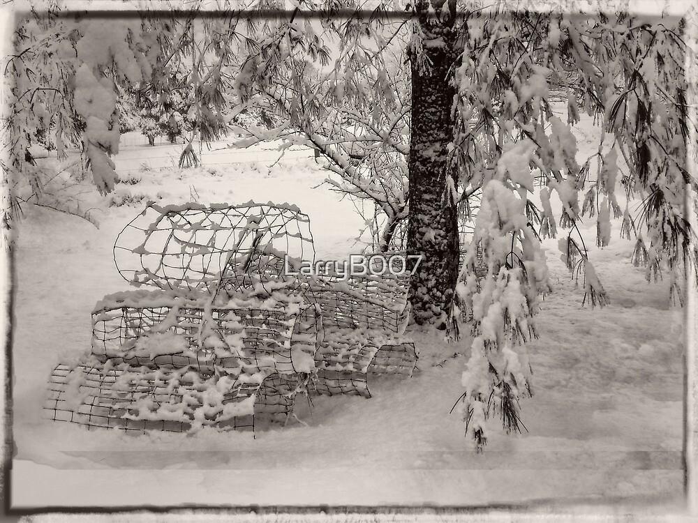 A Snow Scene by LarryB007