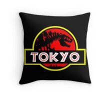 Godzilla Park - Tokyo Throw Pillow