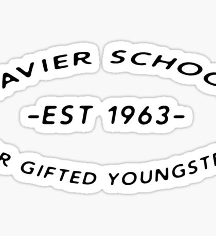 Xavier School for Gifted Youngsters Sticker
