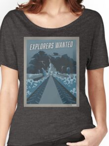 """Mass Effect -  Andromeda : """"Explorers wanted"""" [ARTWORK] Women's Relaxed Fit T-Shirt"""