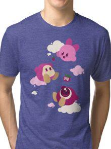 Kirby's dreamland Tri-blend T-Shirt