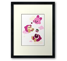 Kirby's dreamland Framed Print