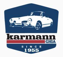 vw karmann ghia by lowgrader