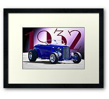 1932 Ford 'Deco' Roadster Framed Print