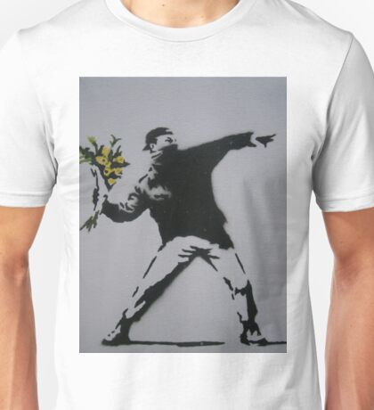The Flame Thrower, Banksy Unisex T-Shirt