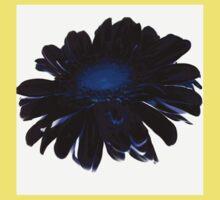 flower blue Baby Tee