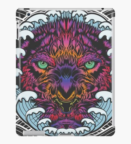 Without Fear-Tiger Water iPad Case/Skin