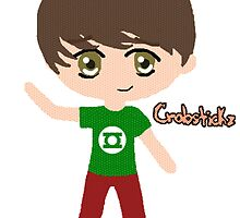 Chibi Chris Kendall by sherlawkwardfox