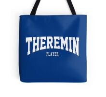 Theremin Player Tote Bag