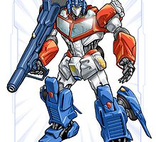 Optimus Prime by Mecha-Zone