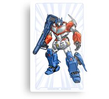 Optimus Prime Metal Print