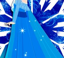 Elsa's Snowflake Sticker