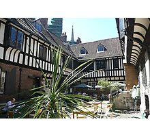 St Williams college courtyard Photographic Print