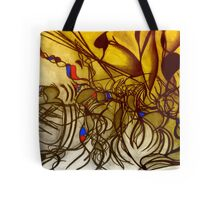 The feast of the gods (after Titian) colourized Tote Bag