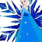 Elsa's Snowflake iPhone Case by jaytasmic