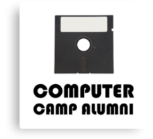 Computer Camp Alumni Canvas Print