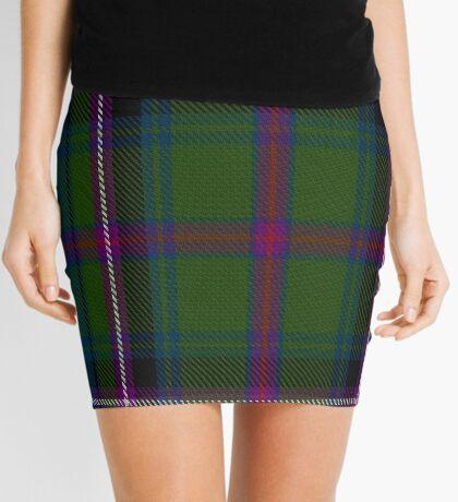 02850 Empire Golf Check Tartan  Mini Skirt