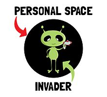Personal Space Invader by AmazingMart