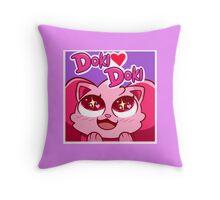DOKIDOKI Throw Pillow