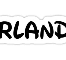 I Love Orlando Sticker