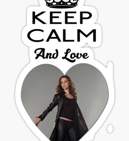 Buffy Faith Eliza Dushku Dollhouse  Sticker