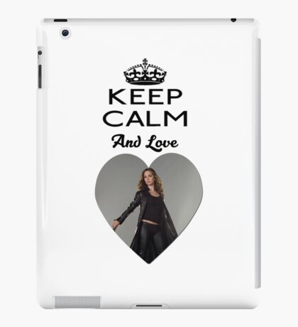 Buffy Faith Eliza Dushku Dollhouse  iPad Case/Skin