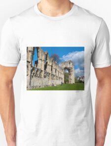St Mary Abby, York museum. Unisex T-Shirt