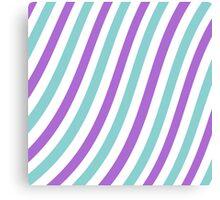 Curvy Stripes Canvas Print