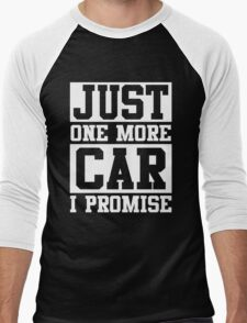 Just One More Car I Promise Men's Baseball ¾ T-Shirt