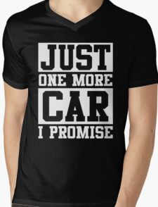 Just One More Car I Promise Mens V-Neck T-Shirt