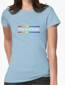 Pray for Orlando Womens Fitted T-Shirt