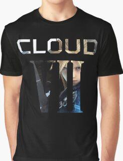 <FINAL FANTASY> Cloud VII Graphic T-Shirt