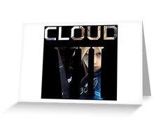 <FINAL FANTASY> Cloud VII Greeting Card