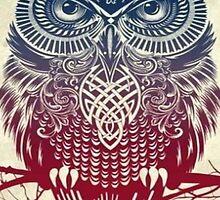 Tribal Owl by Achmen