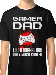 Gamer Dad Mens Funny Video Game Classic T-Shirt