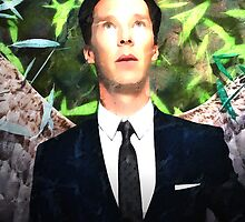 Benedict Cumberbatch Angel by Andre Martin